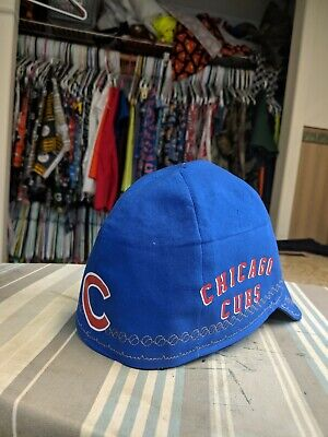 Wendys Welding Hat Made With Chicago Cubs Application New