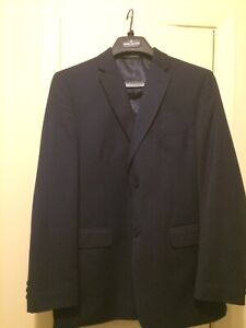 Navy suit jacket and pants