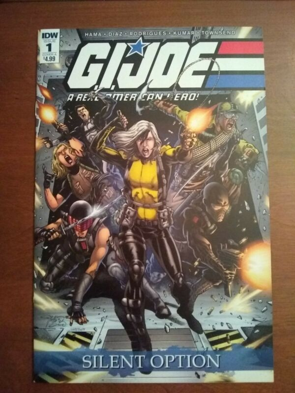 GI Joe A Real American Hero #1 Silent Option IDW Comic Cover A