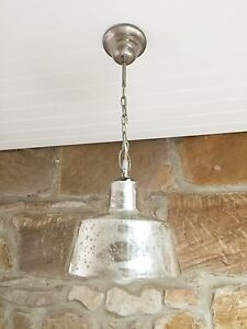 2x gorgeous mercury glass pendant lights Narrabeen Manly Area Preview