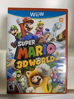 Super Mario 3D World (Wii U, 2013) Tested & Complete