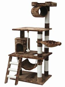 Cat Tree House Toy Bed Scratcher Post Furniture F68