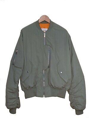 Heliot Emil Sage Green Swat Bomber Jacket [ Size : Large ]