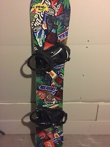 ENDEAVOR BOARD RIDE BINDINGS