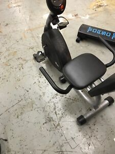 Personal trainer recumbent bike