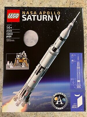 GENUINE LEGO Ideas NASA Apollo Saturn V (21309) - *NISB* Retired Set