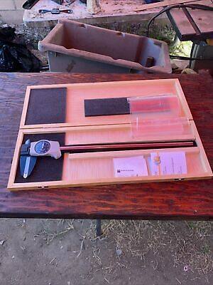 Brown Sharpe Dial-cal 599-578- 12 Dial Caliper Black Face Swiss Made