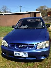 2000 Hyundai Accent Hatchback Downer North Canberra Preview