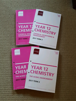 Year 12 Chemistry books from Matrix