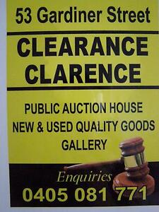 Clearance Clarence Auction House / Service Walk in/ Walk out Goolwa Alexandrina Area Preview