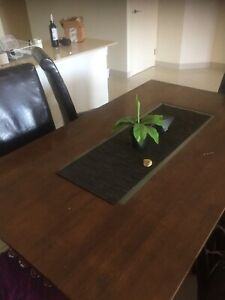6 seater dining table open to offers damaged