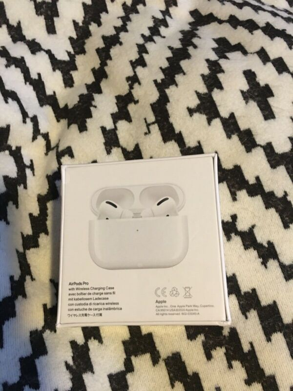 apple airpods pro new in box sealed. Very nice quality Sounds that you'll love.