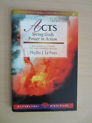 Lifebuilder Bible study: Acts: seeing God's power in action : 24 studies