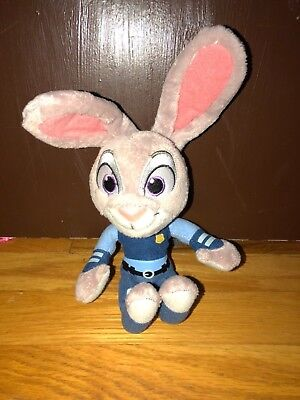 Disney Zootopia Officer Judy Hopps Bunny Rabbit Plush Stuffed Animal 7