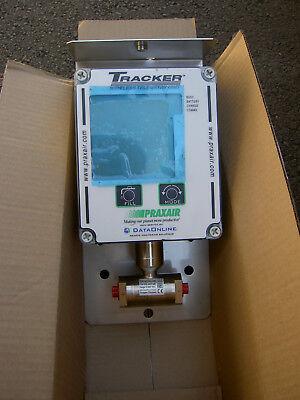 New Praxair Tracker Wireless Telemetry Unit Dataonline Sens-4002-600 Range 0-600