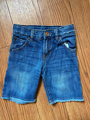 Baby Gap Toddler Boys Cut Off Jean Shorts Sz 3 EUC!