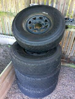 Toyota Hilux 4 x Rims and Tyres
