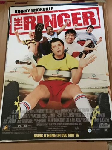 RINGER - JOHNNY KNOXVILLE POSTER 27 X 40 B2 NEW