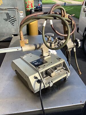 Victor Vcm 200 Portable Cutting Machine 110v With Mt210 Torch Auto Track Burner
