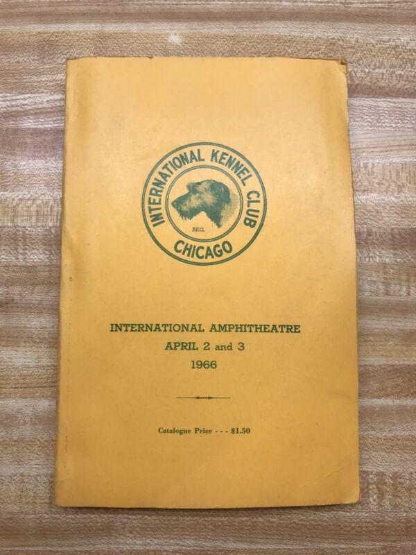 1966 International Kennel Club Show Book
