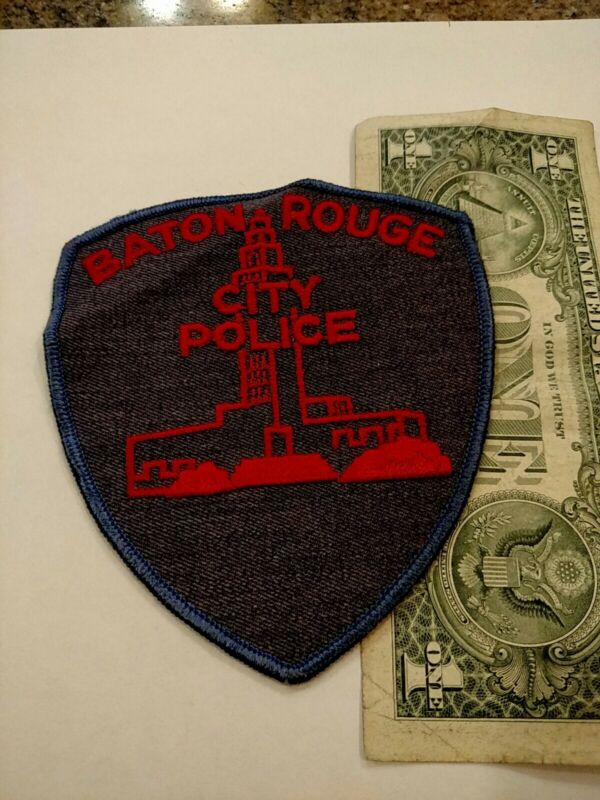 Baton Rouge Louisiana City Police Department Patch New Old Stock