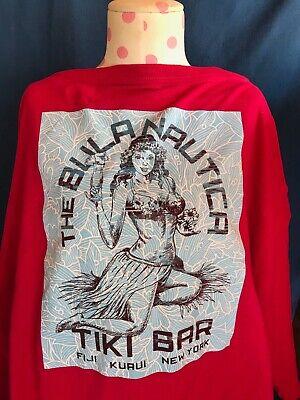 4 XL Bula Nautica Tiki Bar T Shirt Fiji Kuaui New York Bulanautica Nautica Hula