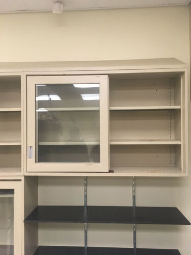 "Kewaunee Lab Casework Overhead Cabinet, Tan, 48""x31""x12"" deep"