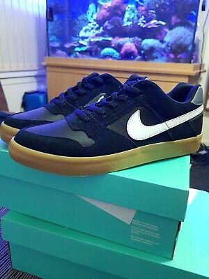 Nike SB Delta Force Vulc Trainers Black Size 9