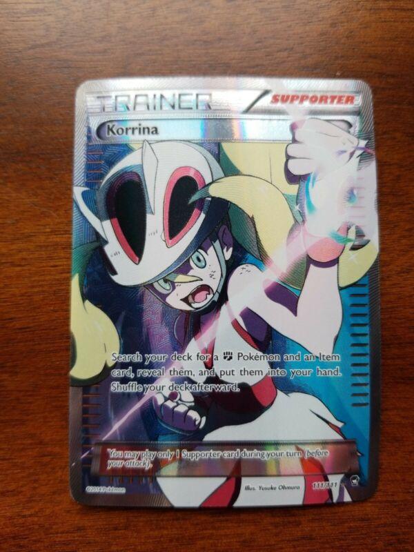Furious Fists 95//111 Korrina Reverse Holo Pokemon Card