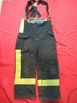 36 X 28 1994 Janesville Lion Firefighter Fire Pants Bunker Turnout Gear Vtg