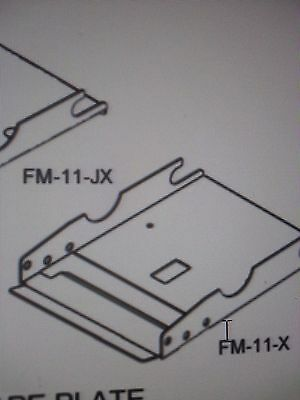 Fm11x Lower Tape Plate Assembly For Better Pack 333