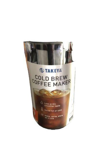 Takeya 10310 1 Quart Cold Brew Coffee Maker - Black