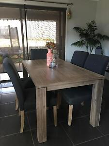 Dining table and chairs Bonner Gungahlin Area Preview