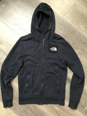 EUROPE EXCLUSIVE North Face Black Label Series Fleece Hoodie Jacket Summit Navy
