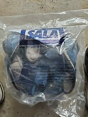 Brand New In Bag 3m Dbi-sala 1107976 Exofit Vest-style Harness Blue Medium