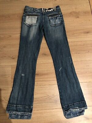 'JUST CAVALLI' DISTRESSED LOOK JEANS SIZE 28