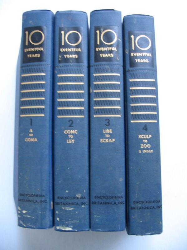 Old Encyclopaedias: Encyclopedia Britannica Set: Books