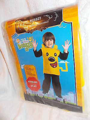 Nick Jr Wubbzy Costume Childs Size Toddlers 3T-4T  NEW - Wubbzy Costume