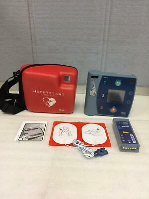 Philips Heart Start Fr2 Defibrillator W Battery Carrying Case Ships Free