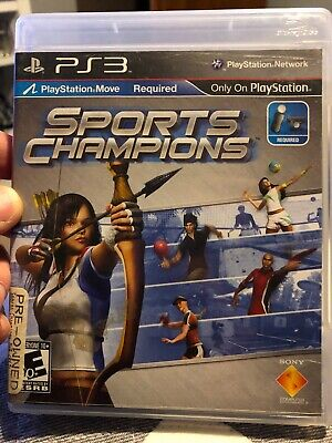 Sports Champions Ps3 PlayStation 3 Olympics Game ()