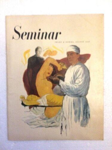 1949 Sharp & Dohme Seminar Qtrly -Smothering Spells Aug 1949 F. Netter Illust.