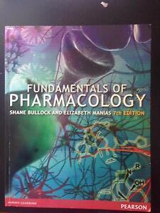 Nursing Textbook - Fundamentals of Pharmacology Armidale Armidale City Preview