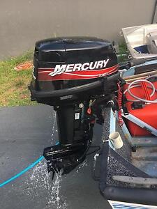 2015 15 super mercury outboard motor Sutherland Sutherland Area Preview