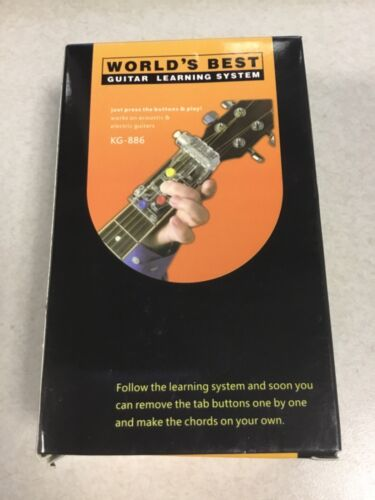 World's Best Guitar Learning System KG-886