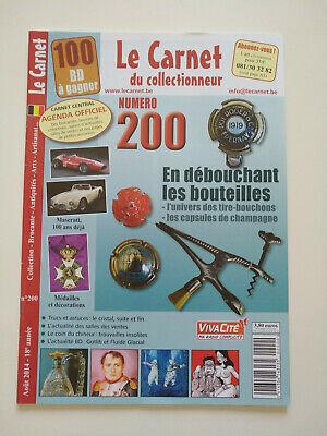 Magazine (comme neuf) - Le carnet du collectionneur 200 (août 2014)