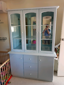 Display cabinet/ buffet and hutch Springwood Logan Area Preview