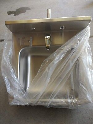 "Acorn Stainless Steel 18"" Lavatory Sink with Rectangular Bowl"