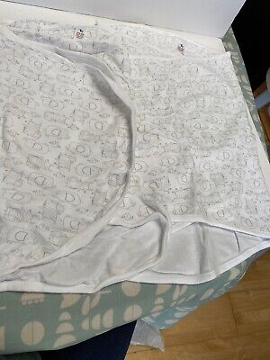 Tu Baby White Swaddle Blankets Cotton X2 for sale  Shipping to South Africa