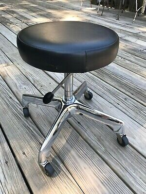 Vtg Reliance Ff Koenigkramer Medical Stool Chair Dentist Dental Tatoo Pneumatic