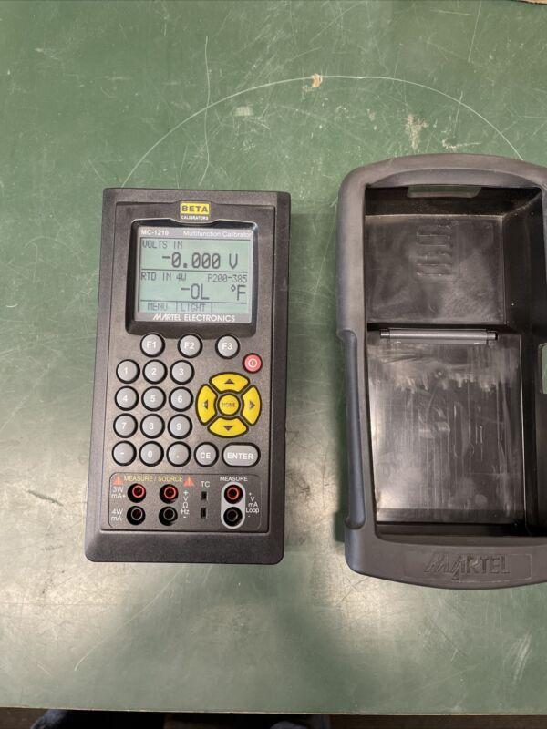 Martel MC-1210, Multifunction Process Calibrator
